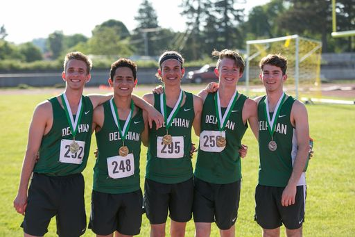 Delphian Exciting District Track Highlights